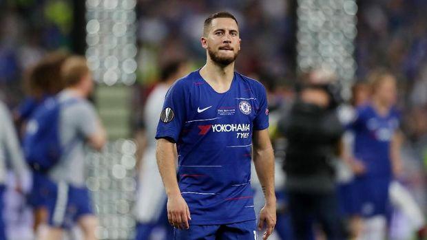 Eden Hazard mencetak dua gol dan satu assist di final Liga Europa 2019.
