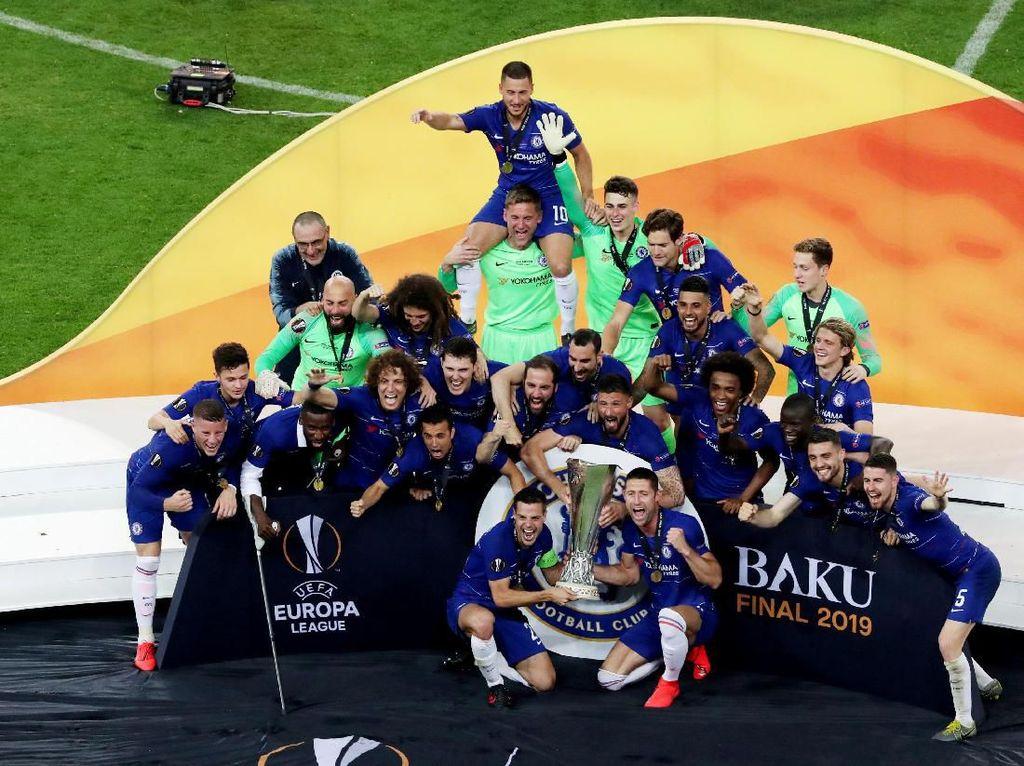 Chelsea Juara Liga Europa dengan Gaya