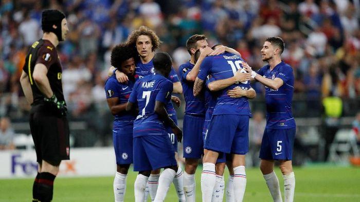 Chelsea juara Liga Europa usai mengalahkan Arsenal 4-1 di final (REUTERS/Amr Abdallah Dalsh)