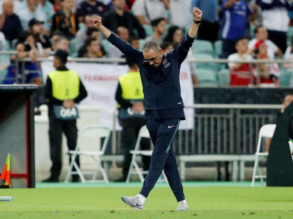 David Luiz: Trofi Juara Ini untuk Sarri