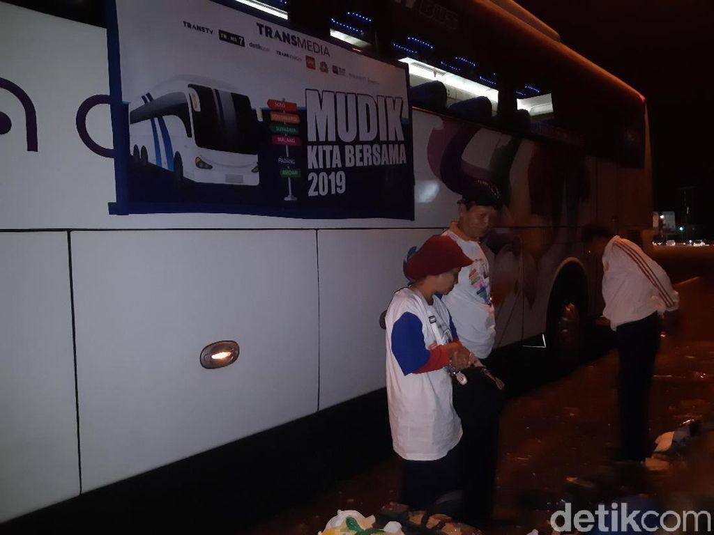 Mudik Lebaran, Bus Jakarta-Yogya Tempuh 13 Jam Perjalanan