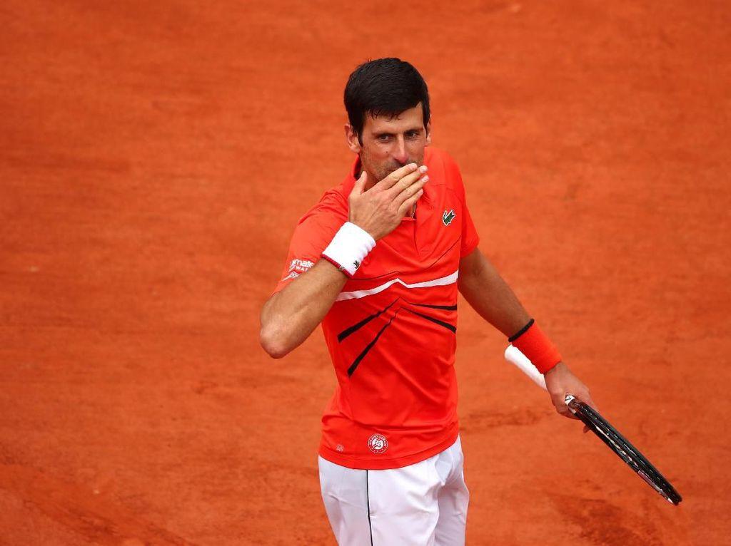 Djokovic ke Babak Ketiga Prancis Terbuka
