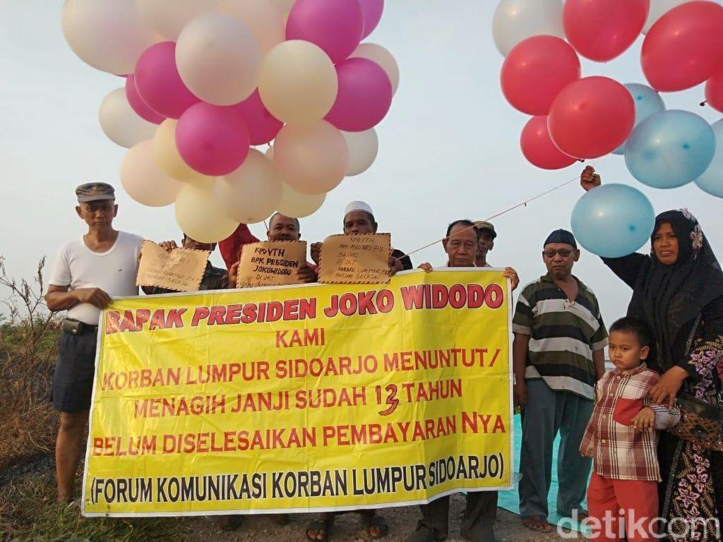 13 Tahun Lumpur Sidoarjo, Warga Terdampak Tulis Surat ke Jokowi