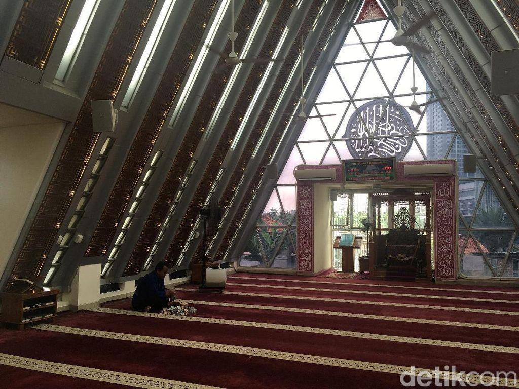 DMI soal Masjid Segitiga Karya Ridwan Kamil: Desain Selalu Berkembang