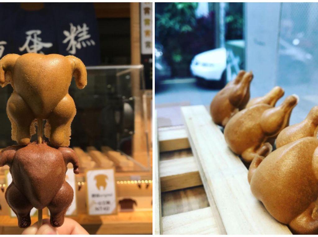 Lucu Banget! Pancake Bentuk Ayam Panggang Mini dari Taiwan