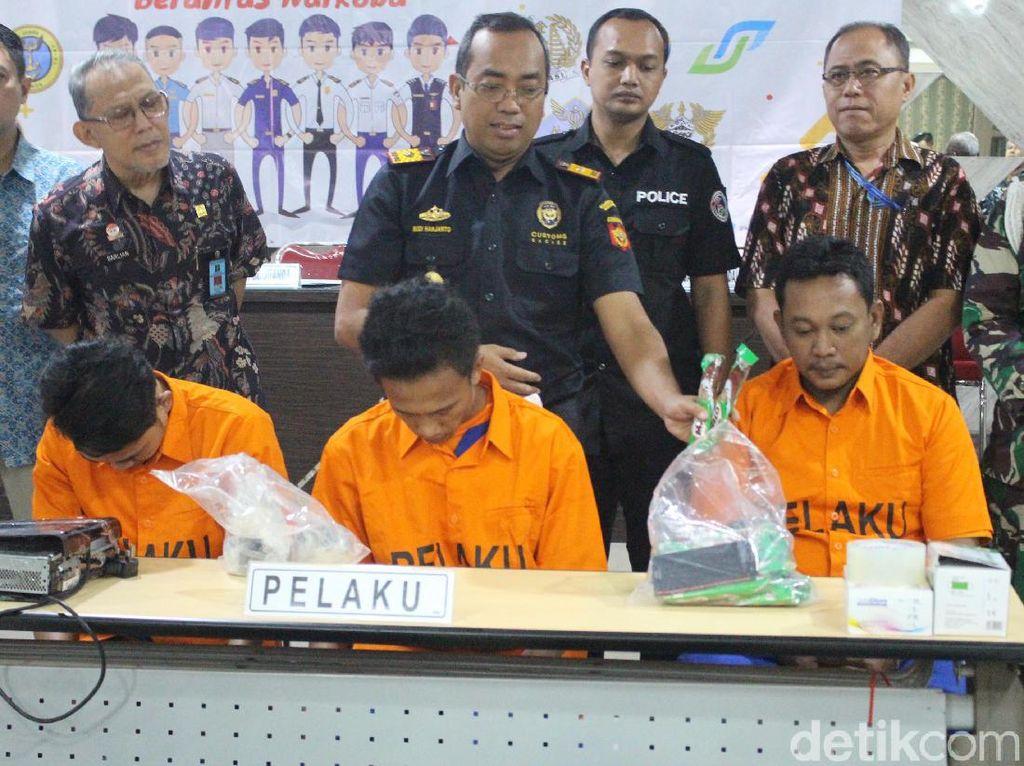 5 Usaha Penyelundupan Narkoba via Juanda Digagalkan, 4,5 Kg Sabu Disita
