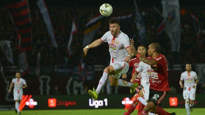 Persija Jakarta kalah 0-1 dari Bali United. (Foto: Nyoman Budhiana/Antara)