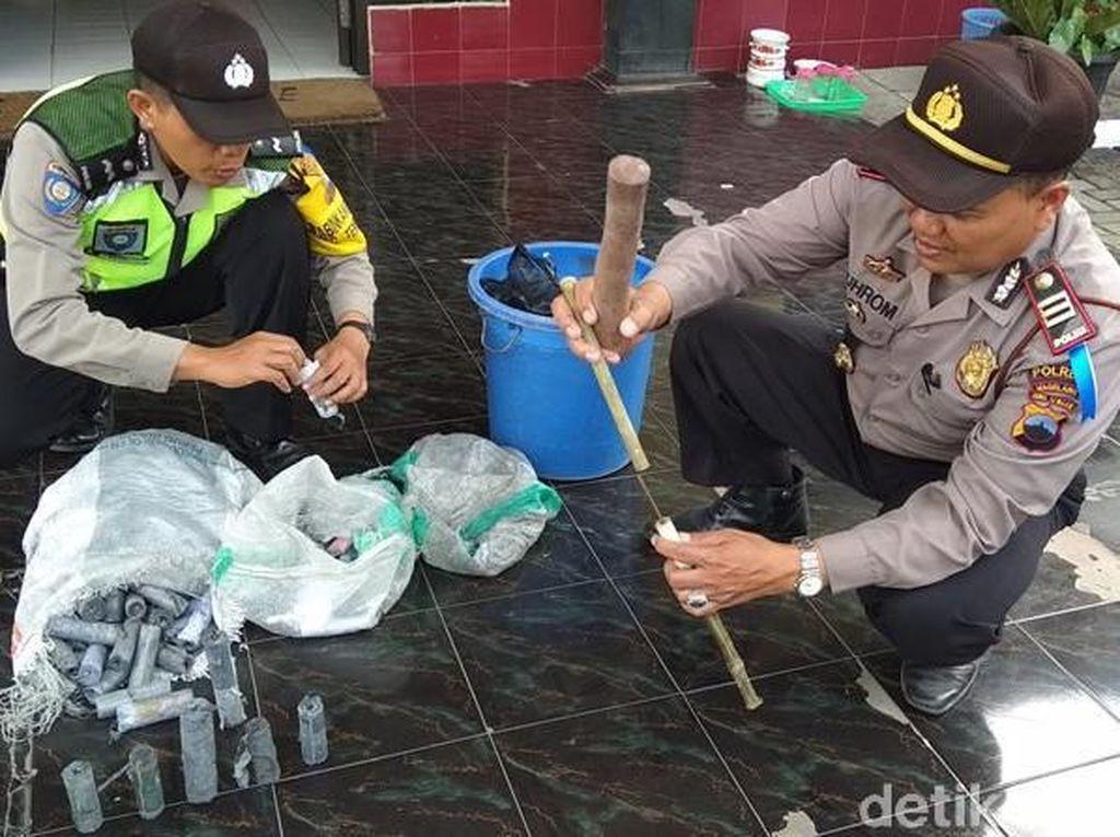 Polisi Magelang Sita Petasan Siap Digunakan Saat Lebaran