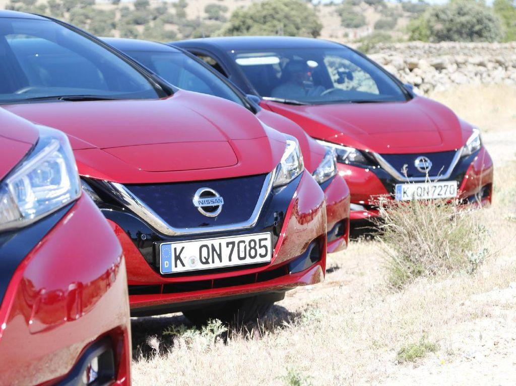 Mencoba Mobil Listrik Terlaris Dunia di Madrid
