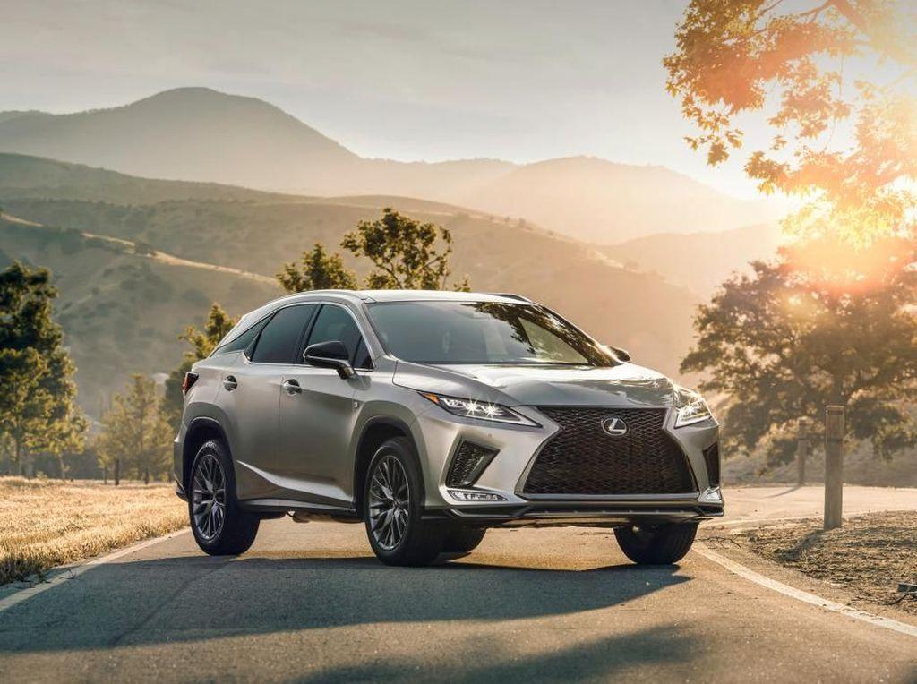 Wajah Baru Lexus RX untuk Tahun Depan