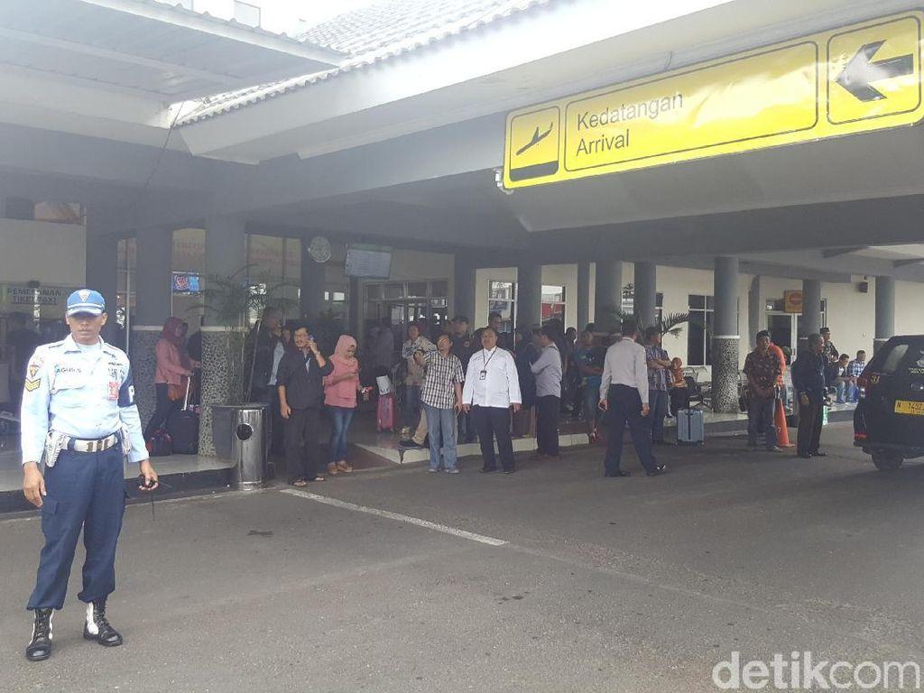 Dampak Tiket Mahal, Penumpang di Bandara Abdulrachman Saleh Malang Turun