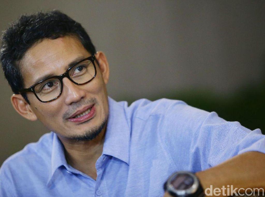 Sandiaga ke Jokowi-Maruf: Selamat Bekerja dan Jalankan Amanah Rakyat