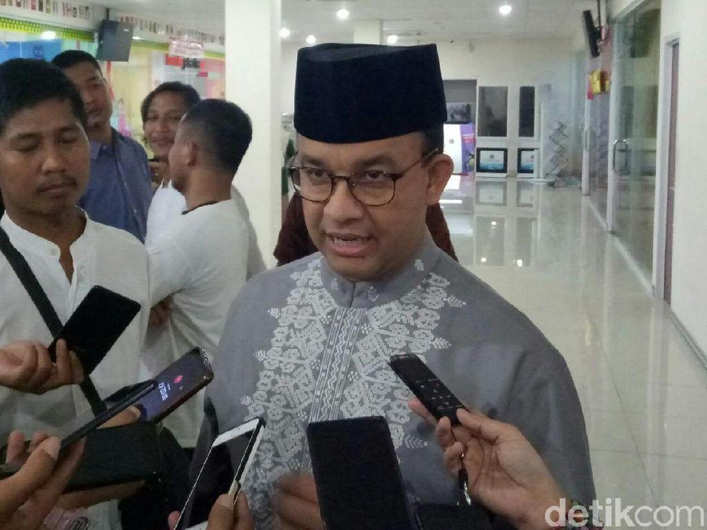 Pantau Jakarta Jelang Lebaran, Anies juga akan Belanja Bareng Anak