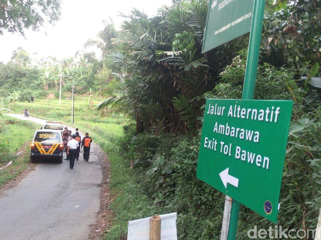 Ini Jalur Alternatif dari Tempat Wisata Bandungan ke Tol Bawen