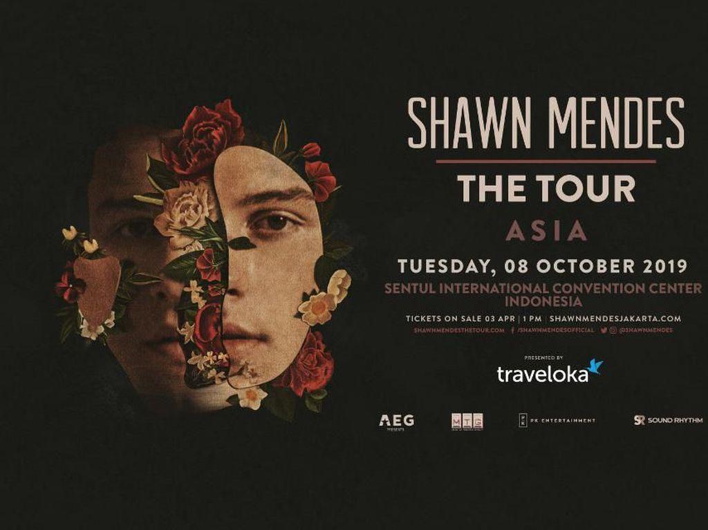 Tiket Kategori 4 Konser Shawn Mendes Dijual Lagi Hari Ini