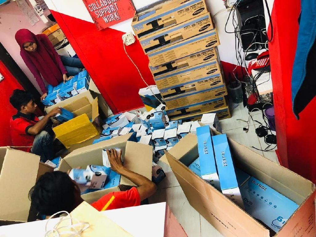 Rumah Kosong Ditinggal Mudik, Bisnis CCTV Banjir Pesanan