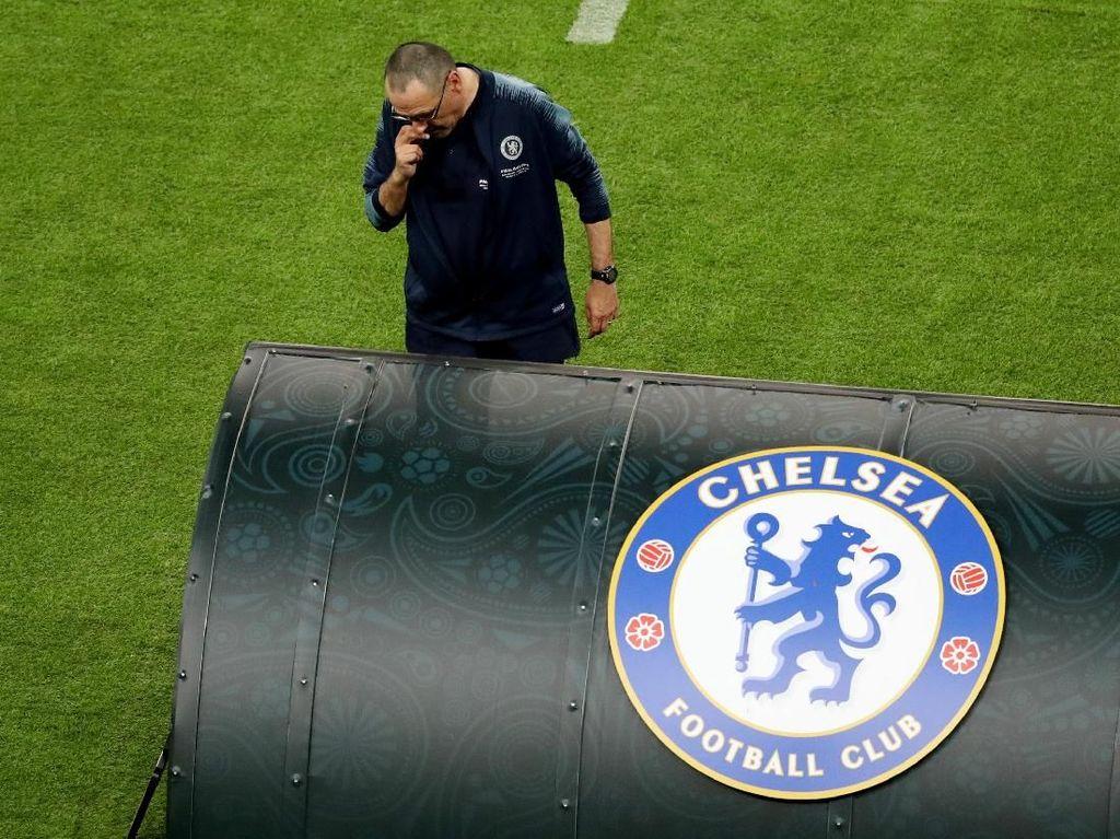 Lampu Hijau Chelsea untuk Sarri Gabung Juventus
