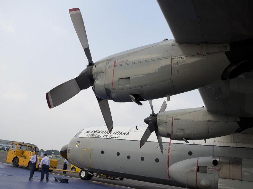 Hercules C-130 Siap Jemput Jenazah Ani Yudhoyono