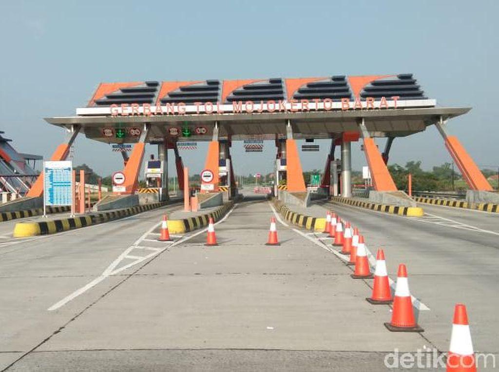 H-4, Volume Kendaraan di Tol Jombang-Mojokerto Naik 86 Persen