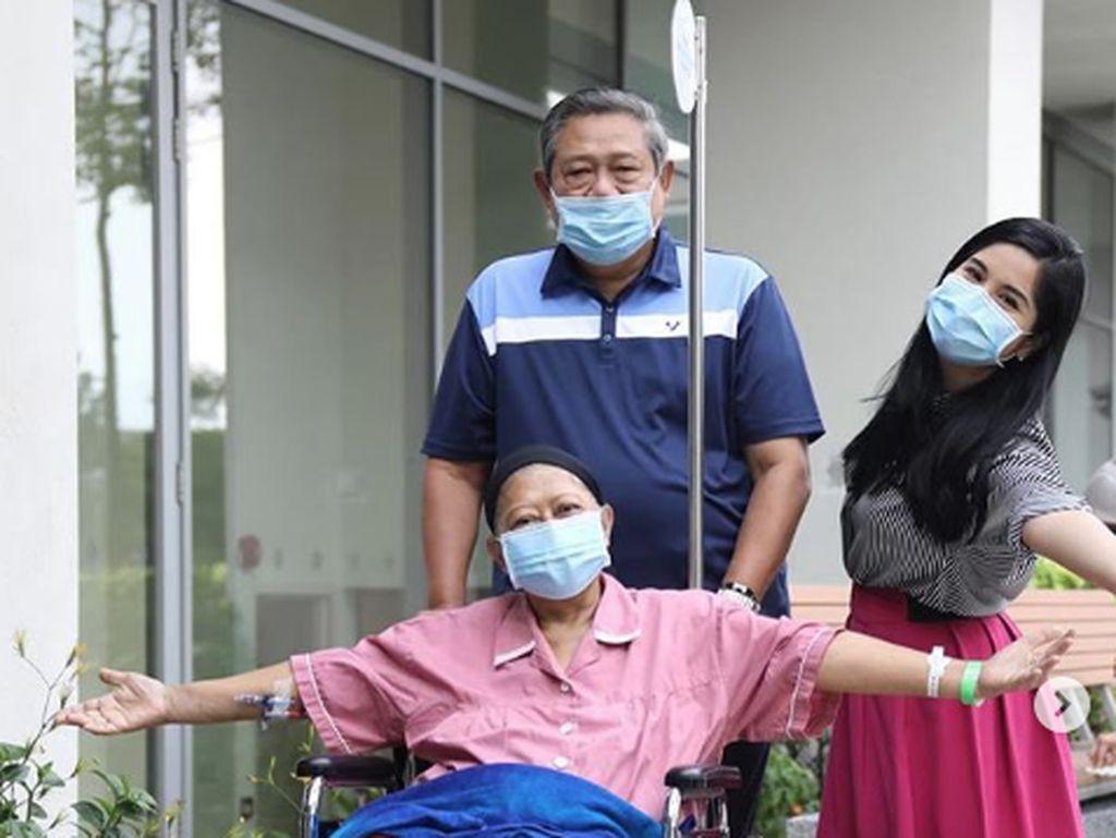 Kenangan Annisa Pohan Saat Ani Yudhoyono Tak Sabar Ingin Hirup Udara Segar