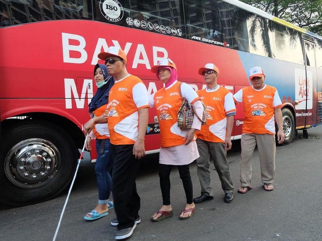 Mudik Bareng, BNI Berangkatkan 250 Difabel Pulang Kampung