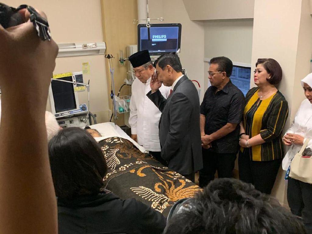 Luhut Cerita Momen-momen Terakhir Melihat Ibu Ani Yudhoyono