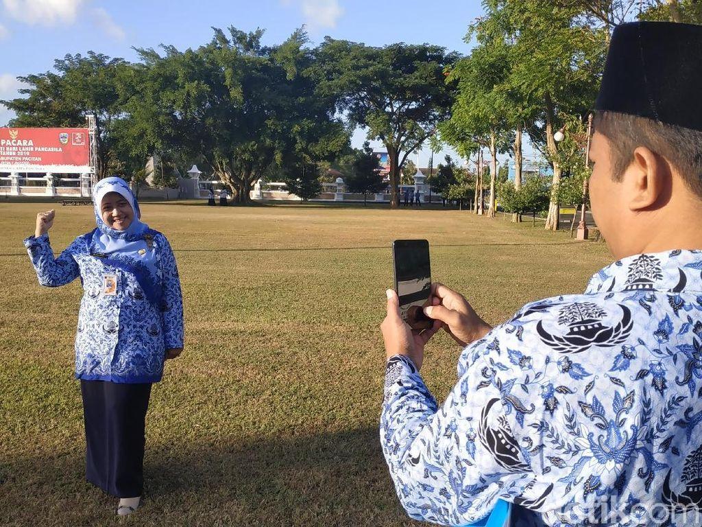 Cerita ASN Mudik ke Pacitan, Berangkat Lebih Awal Hingga Selfie di Lokasi