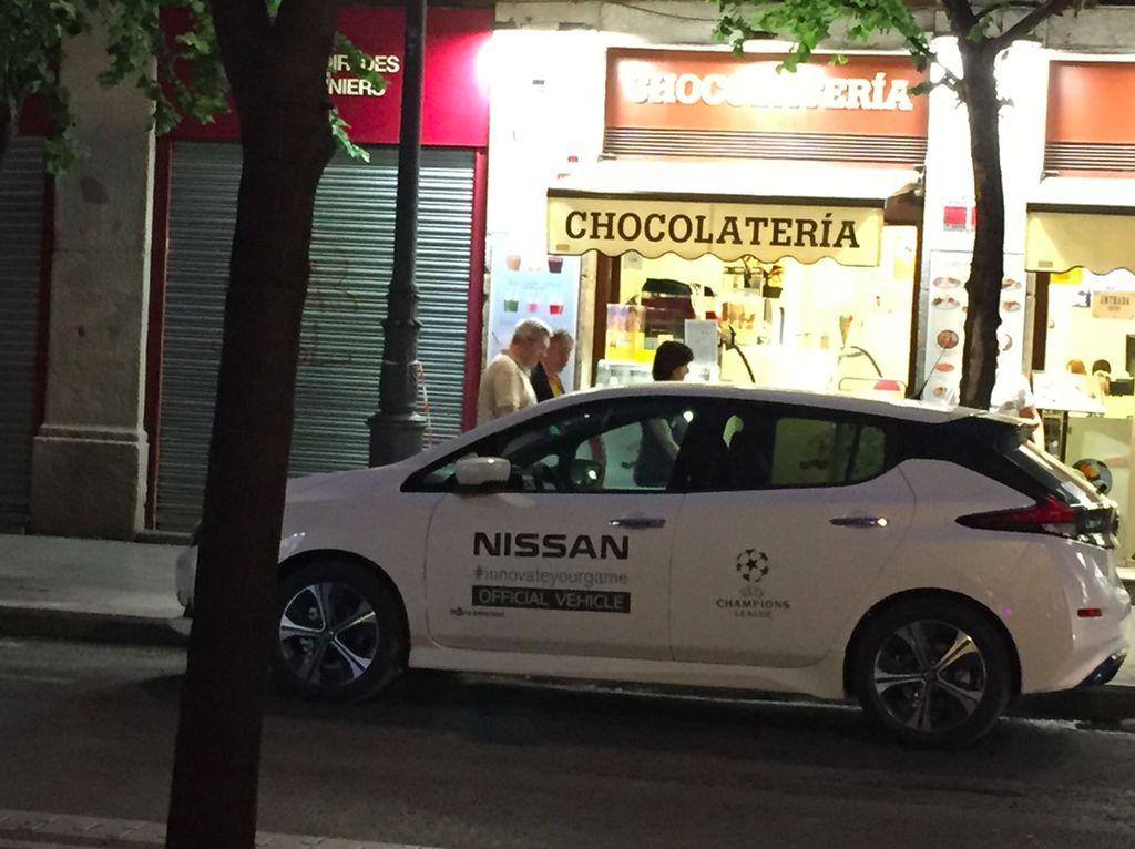 Final Liga Champions Diserbu Mobil Listrik