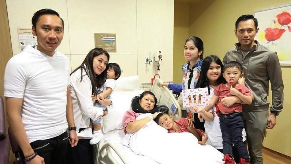 Potret Kenangan Ani Yudhoyono-Keluarga Berjuang Lawan Kanker Darah
