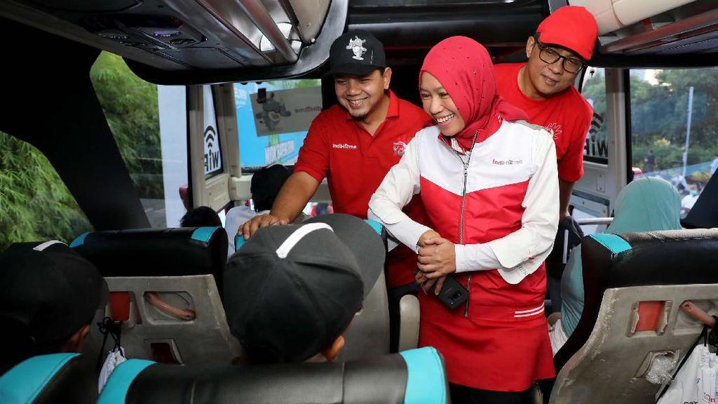 TelkomGroup Berangkatkan 8.250 Pemudik ke 32 Kota Tujuan