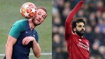 Jelang Final Liga Champions: Siapa Lebih Sehat, Harry Kane Vs Mohamed Salah?