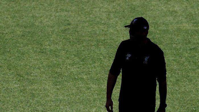 Juergen Klopp diadang rekor buruk di ajang final Liga Champions (Sergio Perez/Reuters)