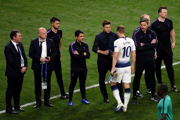 Manajer Tottenham Hotspur Mauricio Pochettino mengira gol cepat Liverpool memukul timnya. (Foto: David Ramos / Getty Images)