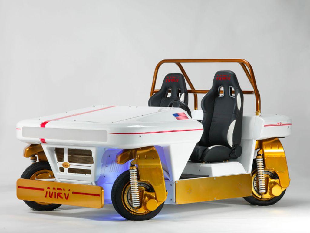 Mobil Listrik NASA untuk Planet Bumi