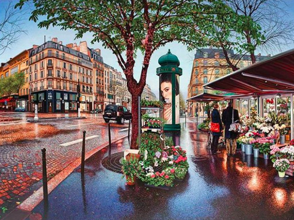 Lukisan Super Realistis yang Disangka Jepretan Kamera