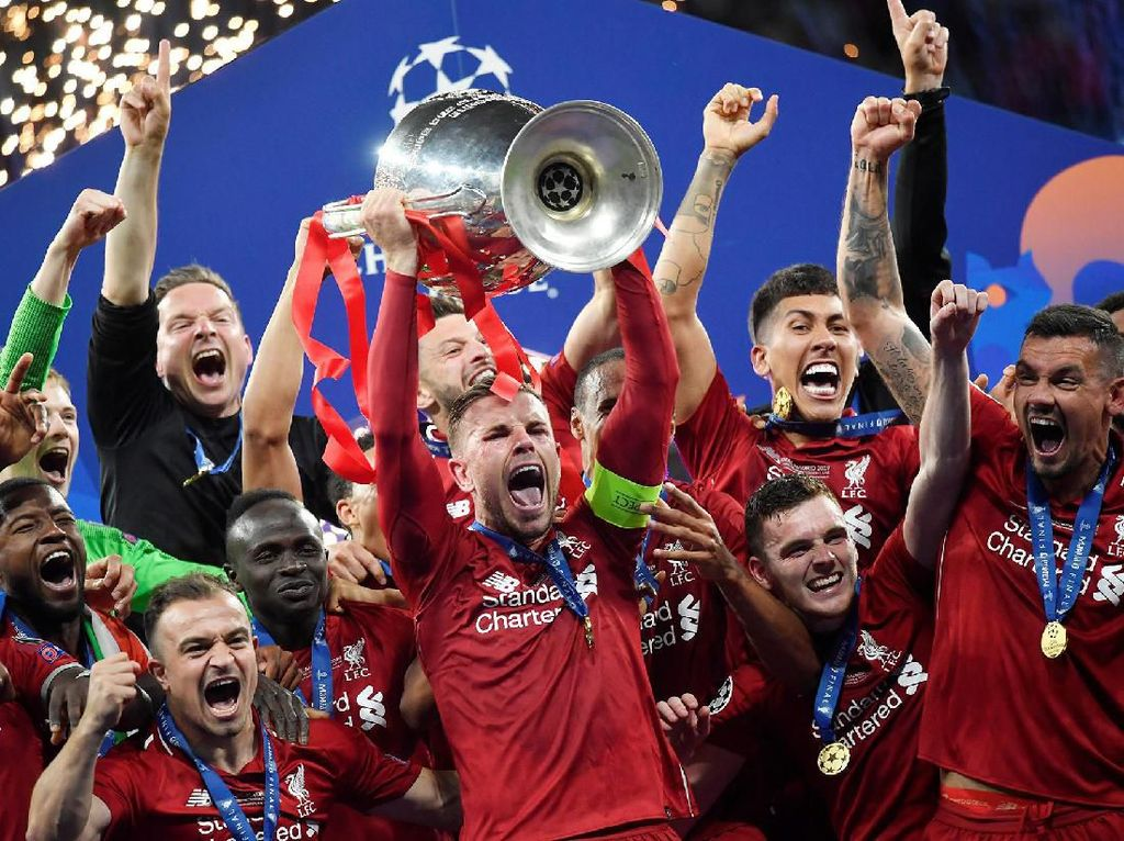 Liverpool Akhiri Puasa Gelar Liga Champions