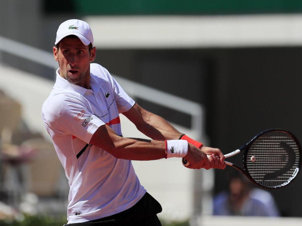 Djokovic Tiba di Babak 16 Besar Prancis Terbuka