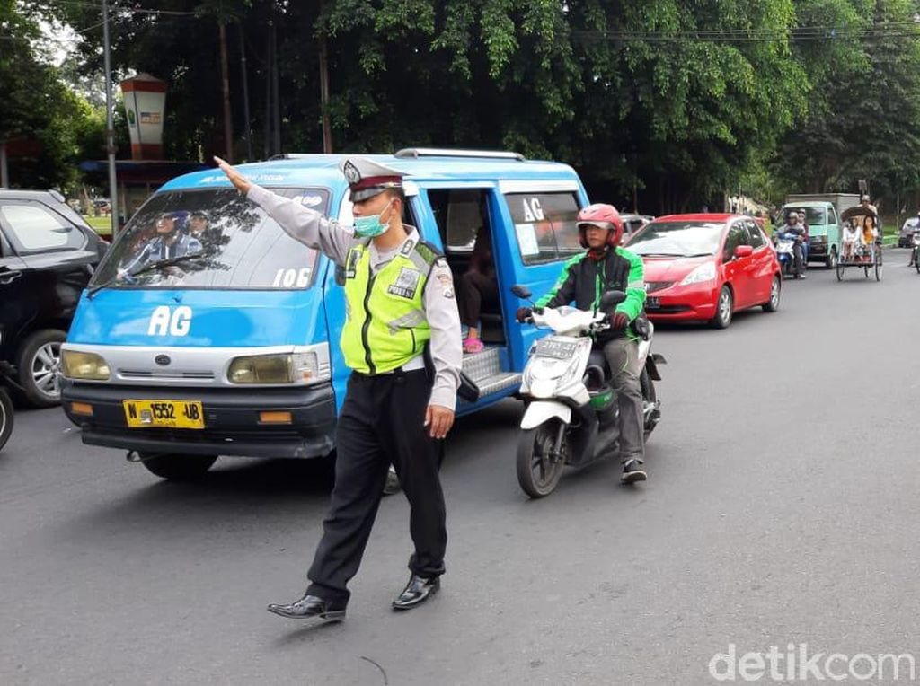 H-3, 268 Ribu Kendaraan Terpantau Melintas di Kota Malang