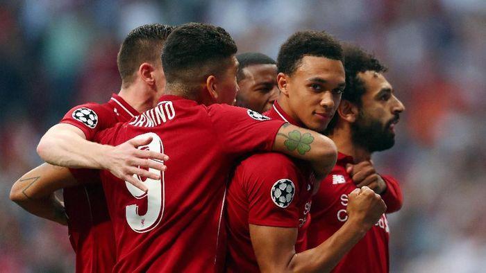 Salah Dan Origi Antar Liverpool Juara Liga Champions