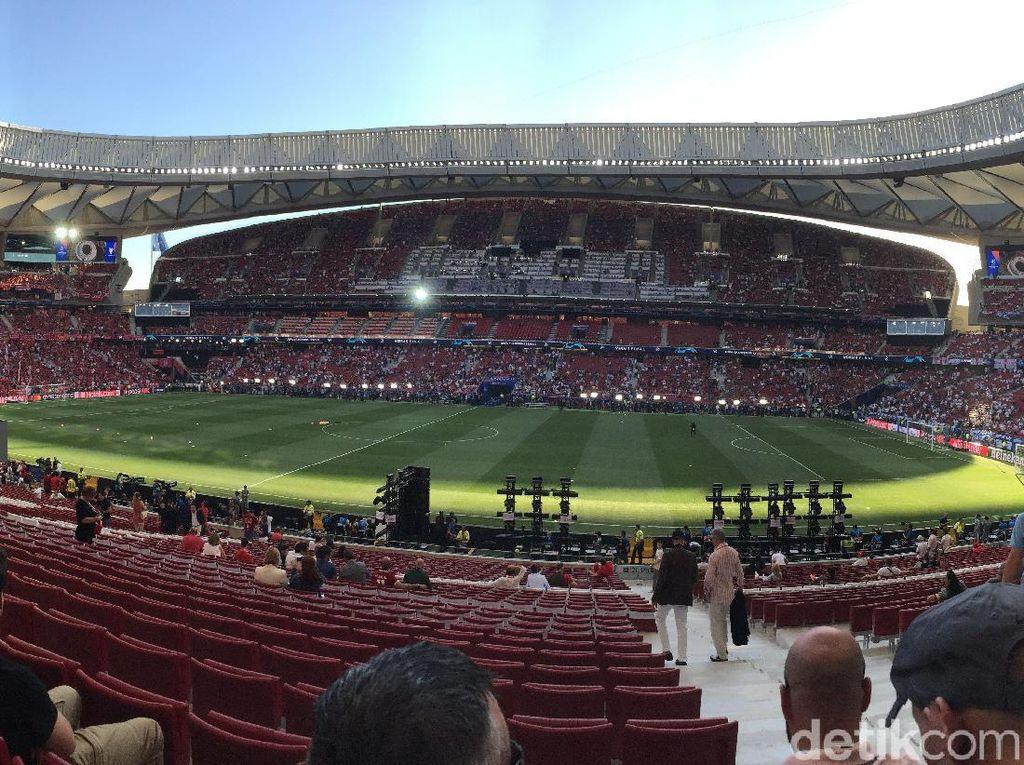 Canggihnya Pengaturan Suporter di Wanda Metropolitano