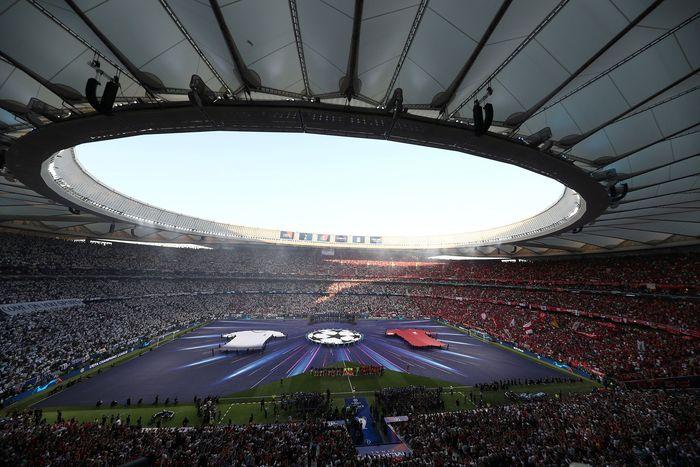 Final Liga Champions antara Liverpool vs Tottenham Hotspur digelar di Stadion Wanda Metropolitano, Madrid, Spanyol, Minggu (2/6/2019) dini hari WIB. Sergio Perez/Reuters.