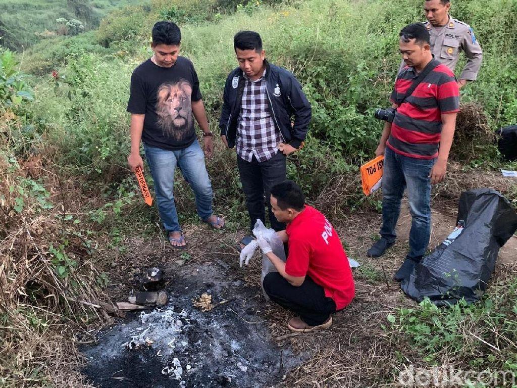 Alasan Polisi Tahan 2 Pria Meski Identitas Tengkorak Terbakar Belum Terungkap