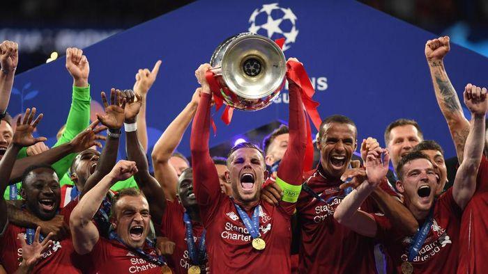 Liverpool Angkat Trofi Ke 6 Di Liga Champions