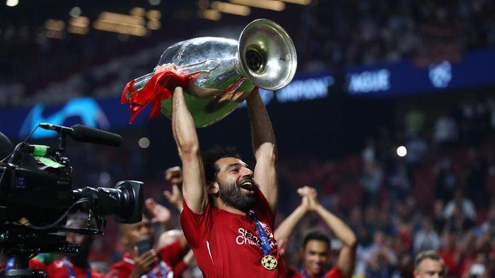 Mohamed Salah bangkit dari kegagalan di musim lalu untuk meraih Liga Champions (Foto: Clive Rose/Getty Images)