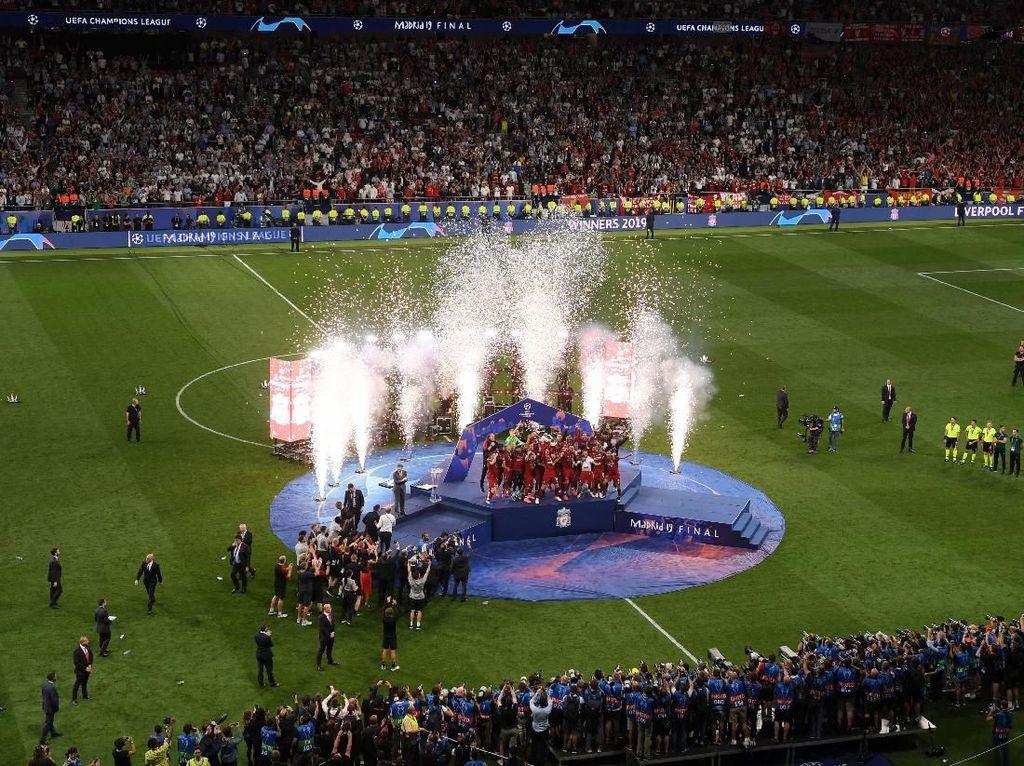 Liverpool Dihajar Real Madrid Musim Lalu, Kini Pesta di Kota Madrid
