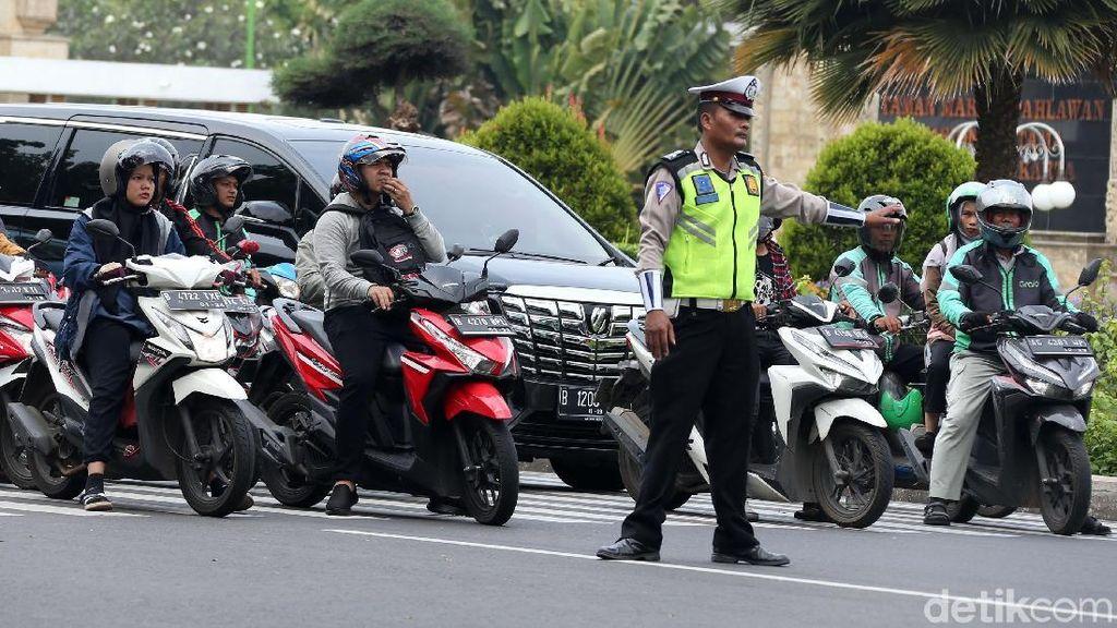 Rekayasa Lalin di Kalibata untuk Pemakaman Ani Yudhoyono