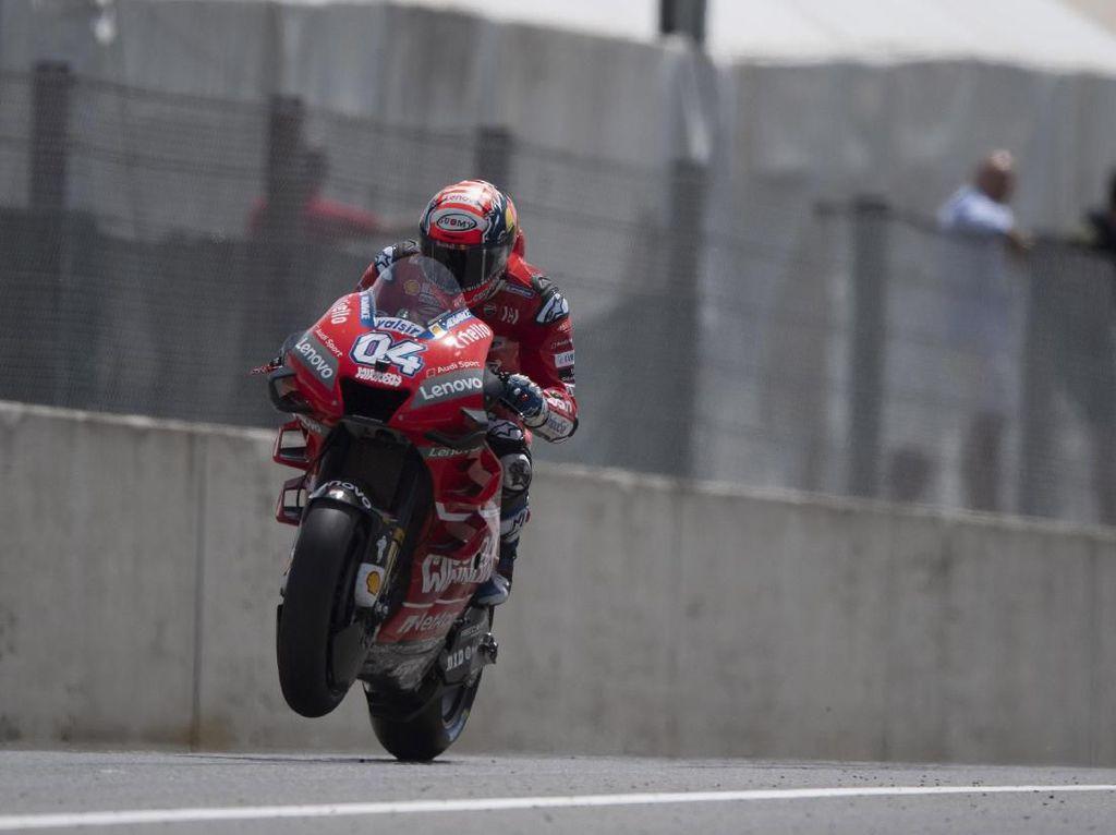 Dovizioso Tak Permasalahkan Taktik Marquez untuk Raih Pole Position