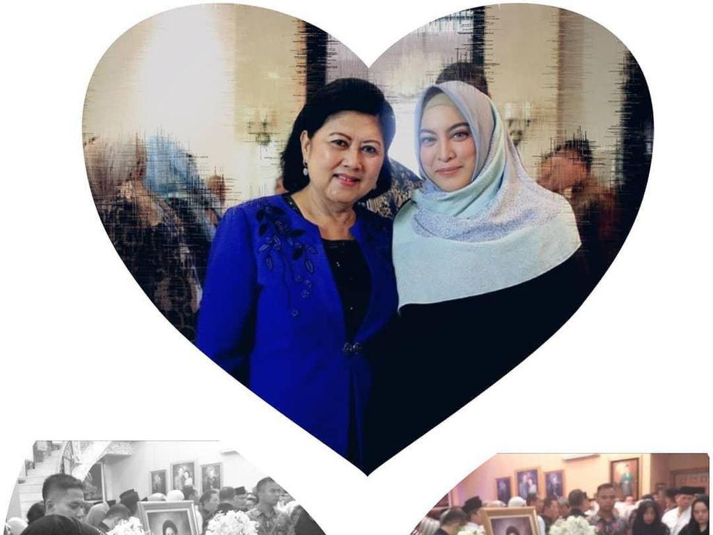 Di Hari Ultah, Jane Shalimar Kenang Foto Terakhir Bersama Bu Ani