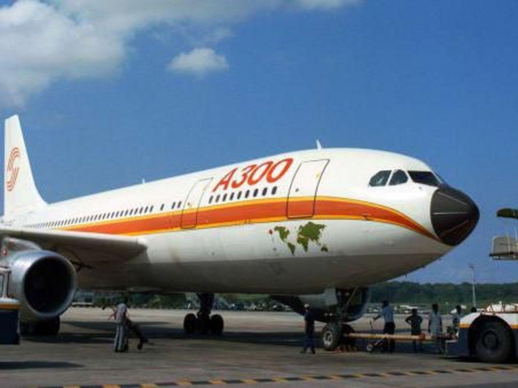 Foto: Kerajaan Pesawat Airbus dari Keluarga A300