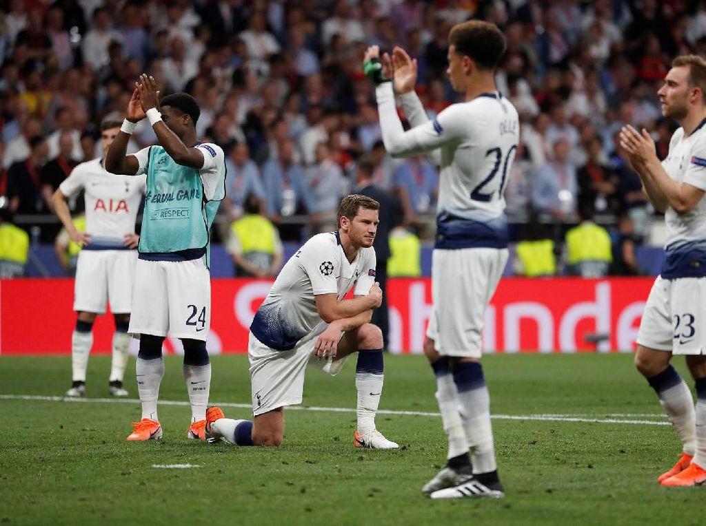 Tottenham Jangan Lagi Jadi Klub Nyaris Juara